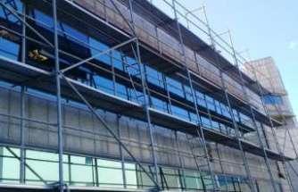 Borsa İstanbul binasının cephe işleri As Yapı Elemanları ile ilerliyor