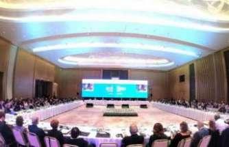 """""""Orta Asya Bölgesel Ekonomik İşbirliği Programı Konferansı"""" Taşkent'de yapıldı"""