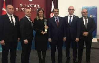 """Tüpraş'a """"Enerji Verimliliği"""" ödülü"""