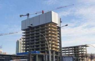 Balgat Ofis ve Ticaret Kompleksi Projesi Doka koruma perdesi ile güvenle yükseliyor