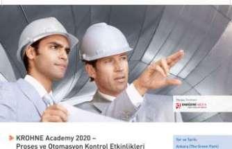 KROHNE Academy 2020 Nisan ayında düzenlenecek