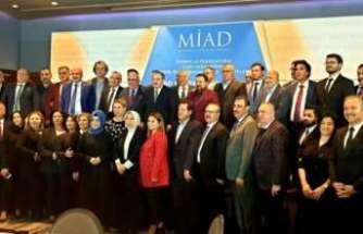 MİAD toplantısında iş insanları buluştu, sanayi ve teknoloji konuşuldu