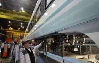 TÜVASAŞ'tan yerli ve milli üretim 56 adet elektrikli tren seti
