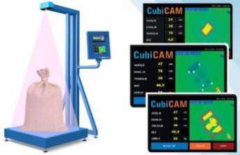 CubiCAM® yüksek hassasiyetli ağırlık ve boyut ölçümü sağlıyor