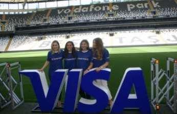 Milli futbolcuya Visa desteği