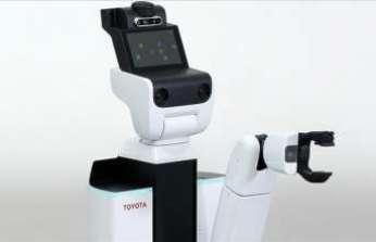 Toyota'nın hizmet robotu gündelik işleri rahatlatacak