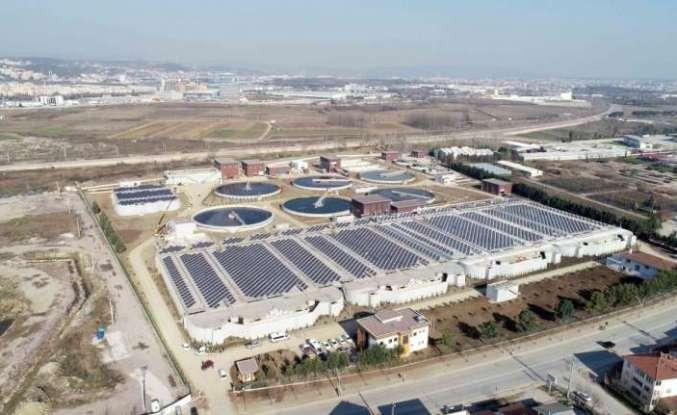 166 bin metreküplük arıtma tesisi faaliyette