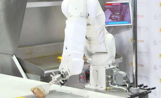 Köfte çeviren robotları göreceğiz