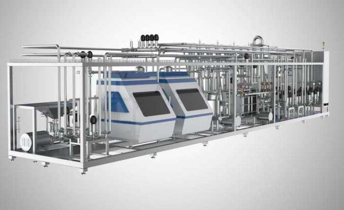 Anahtar teslim tesis çözümlerinde yeni süt ürünleri grubu