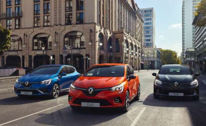 Yeni Renault Clio,ilk ödülünü aldı