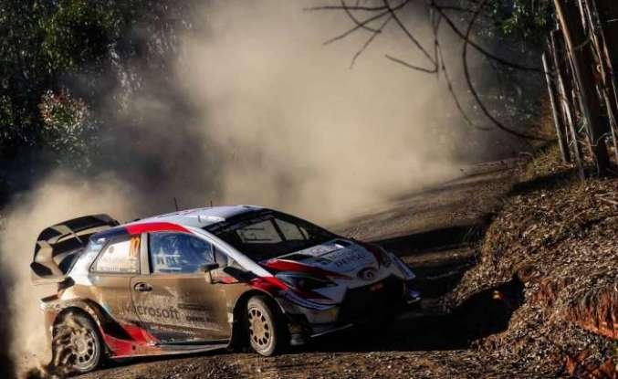 Toyota  WRC Şili Rallisi'nin galibi oldu
