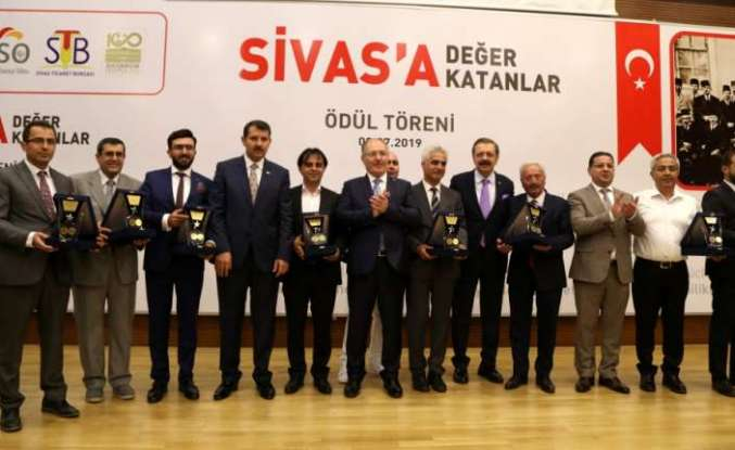 """""""Sivas'a Değer Katanlar"""" ödüle layık görüldü"""