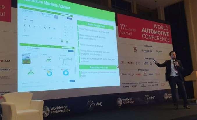 Dünya Otomotiv Konferansı'nda mobilitenin geleceğine ışık tuttu