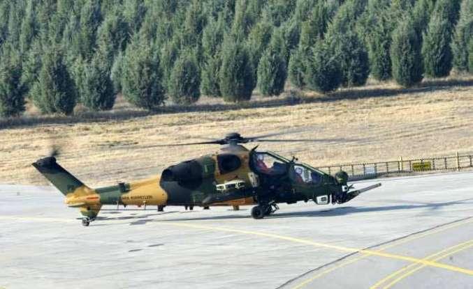 Güçlenen Atak helikopterinin ilk uçuşu gerçekleşti