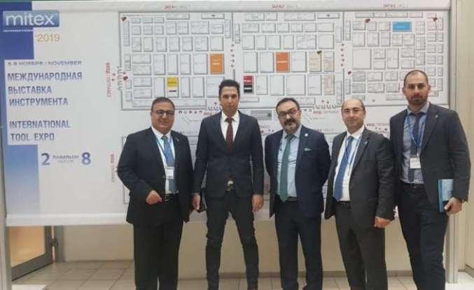 Türk hırdavatçılar Rusya'da MITEX fuarına  çıkartma yaptı