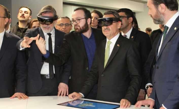 Bursa Model Fabrika'daki artırılmış gerçeklik teknolojisi
