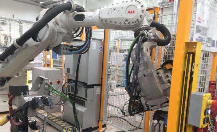 O firmadan otomotiv sektörüne 3 robotlu kaynak hattı