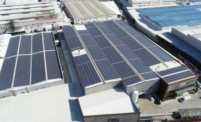 PMS Alüminyum da güneşe yatırım yaptı