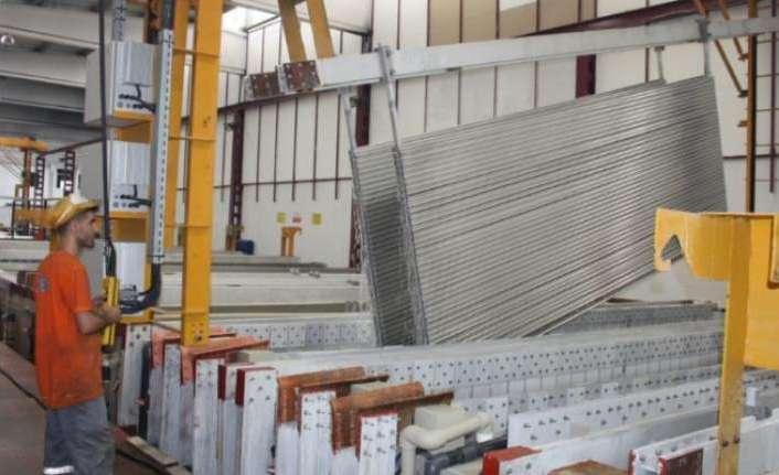 Diyarbakır'dan alüminyum kompozit panel üretimiyle dünyaya açıldı