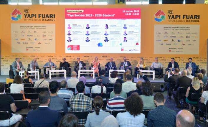 Ticaret Bakanlığından Yapı Fuarı – Turkeybuild İstanbul katılımcılarına destek