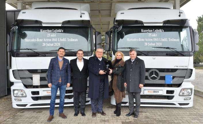 TruckStore'dan Kuzeyhan Lojistik'e 25 adetlik kamyon teslimatı