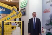 Askaynak sırlama robotu ile seramik sektörüne giriş yaptı