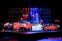Çin'deki robot yarışmasına Türk öğrenciler damga vurdu