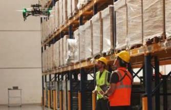 IKARUS Havacılık, stok yönetiminde Drone'lu çözümler sunuyor