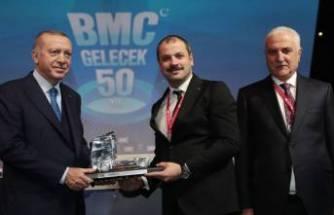 Erdoğan, otomotiv devi BMC'nin fabrika temel atma törenine katıldı