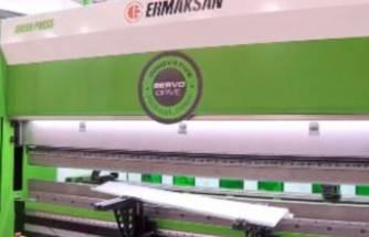 Ermaksan'ın presi atıksız ve tasarruflu üretim sağlıyor