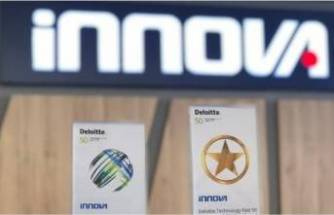 İnnova'ya Deloitte Teknoloji Fast, Big Star, ödülü