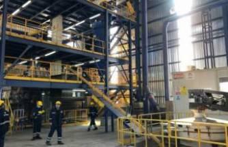 Eti Krom'un yeni tesisi maden atıklarını sanayiye kazandırıyor