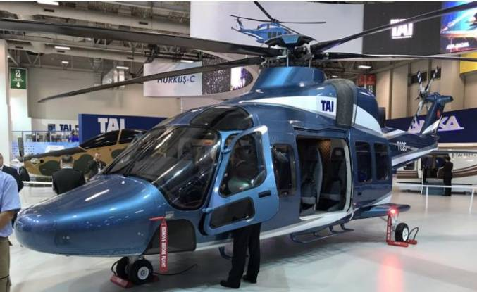 Türk helikopteri T 625 Bahreyn'e damga vurdu
