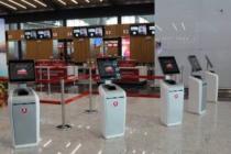 Yeni havalimanının yerli kioskları Emse'den