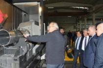 Aydın ve İstanbul Ticaret Borsası'ndan Polat Makina'ya ziyaret