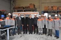 Ermaksan'ın üretim tesisine Eski Bakan misafir oldu