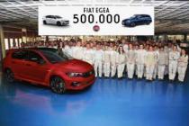 Fiat Egea üretimi 500 bin adede ulaştı