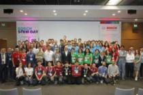 Öğrencilerin geliştirdiği robotlar Bosch Türkiye'de