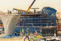 Köprü ve otoyol projelerine katkı sağlamaya devam ediyor
