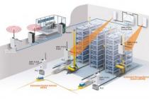 AGV kablosuz haberleşme sistemi kurdu