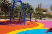 İnegöllü çocukların oyunları Stil Spor'un zemin çözümleriyle renkleniyor
