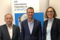 IFR'nin yeni başkanı Schunk'tan