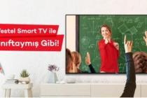 Vestel Smart TV'ler ile sınıftaymış gibi