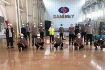 Sanibey Barajı TSE Covid-19 güvenli üretim belgesini aldı