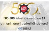 ISO500, ENERJİ VERİMLİLİĞİ İLE KAZANIYOR