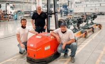 Mercedes'in fabrikasındaki AGV projesine ödül