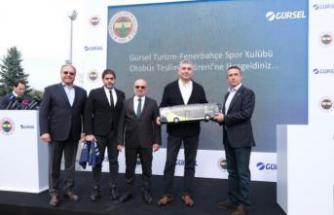 Gürsel Turizm'den Fenerbahçe Spor Kulübü'neözel tasarım Mercedes-Benz Tourismo