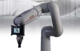 İnsanla birlikte çalışabilen yeni robotu MELFA Assista'yı sergiledi