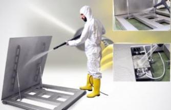 Piston mekanizmalı terazi ile hassas temizlik sağlıyor