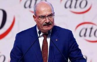 ATO Başkanı Baran'dan mücbir sebep kapsamının genişletilmesi talebi